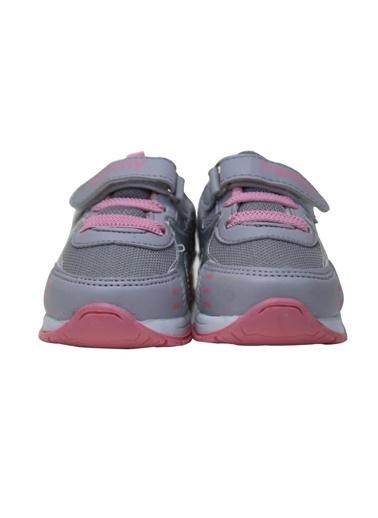 Momykids Anatomik Spor Ayakkabı Kız Bebek Işıklı Pembe